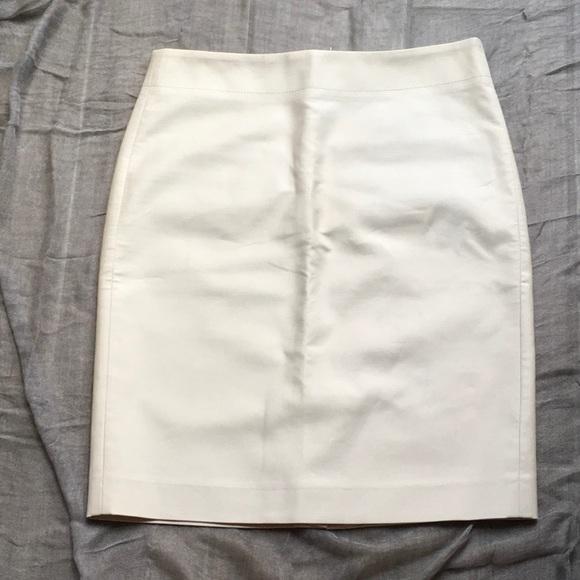 J. Crew Dresses & Skirts - J. CREW Cream Pencil-Skirt